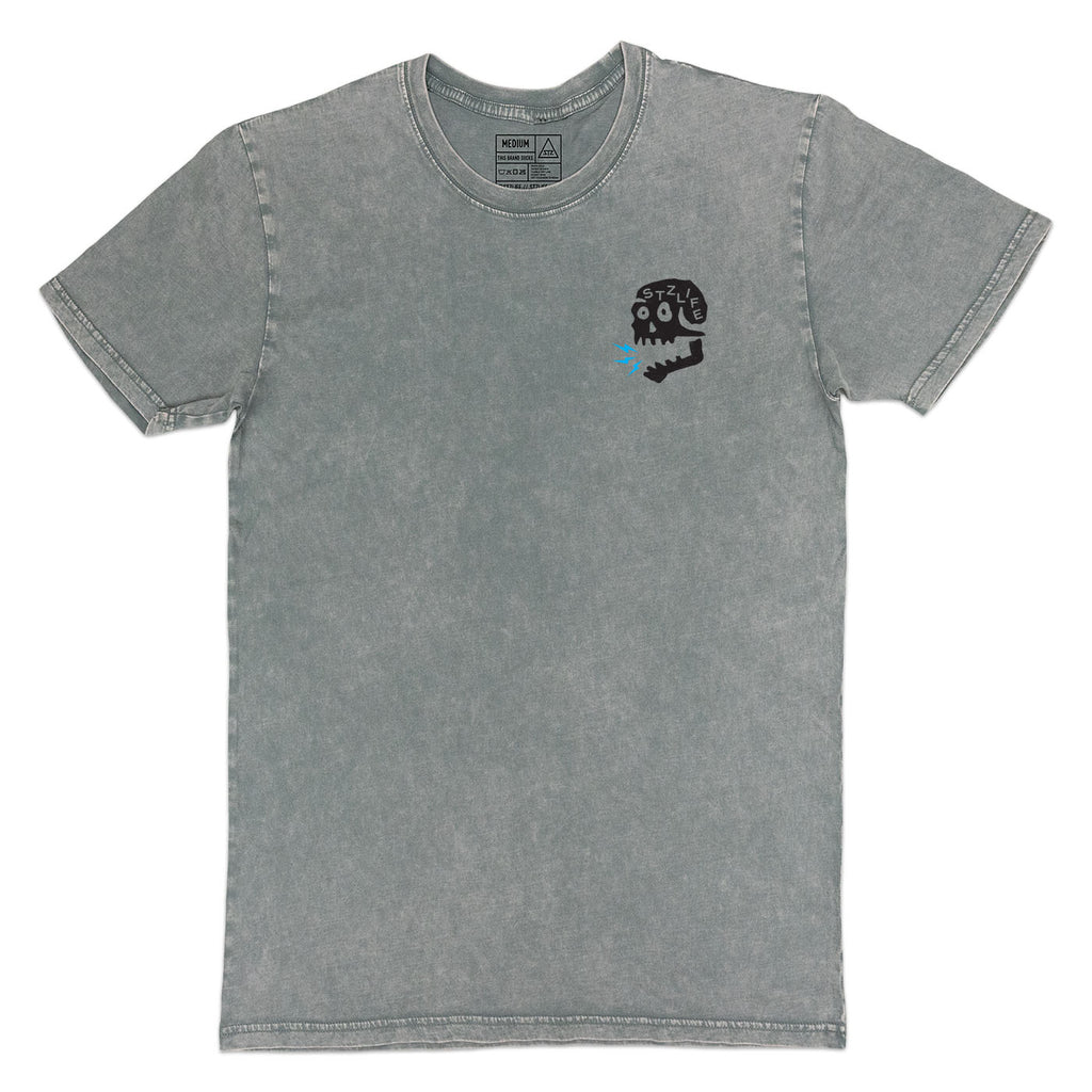 SCREAMIN' SKULL | STONE WASH GREY