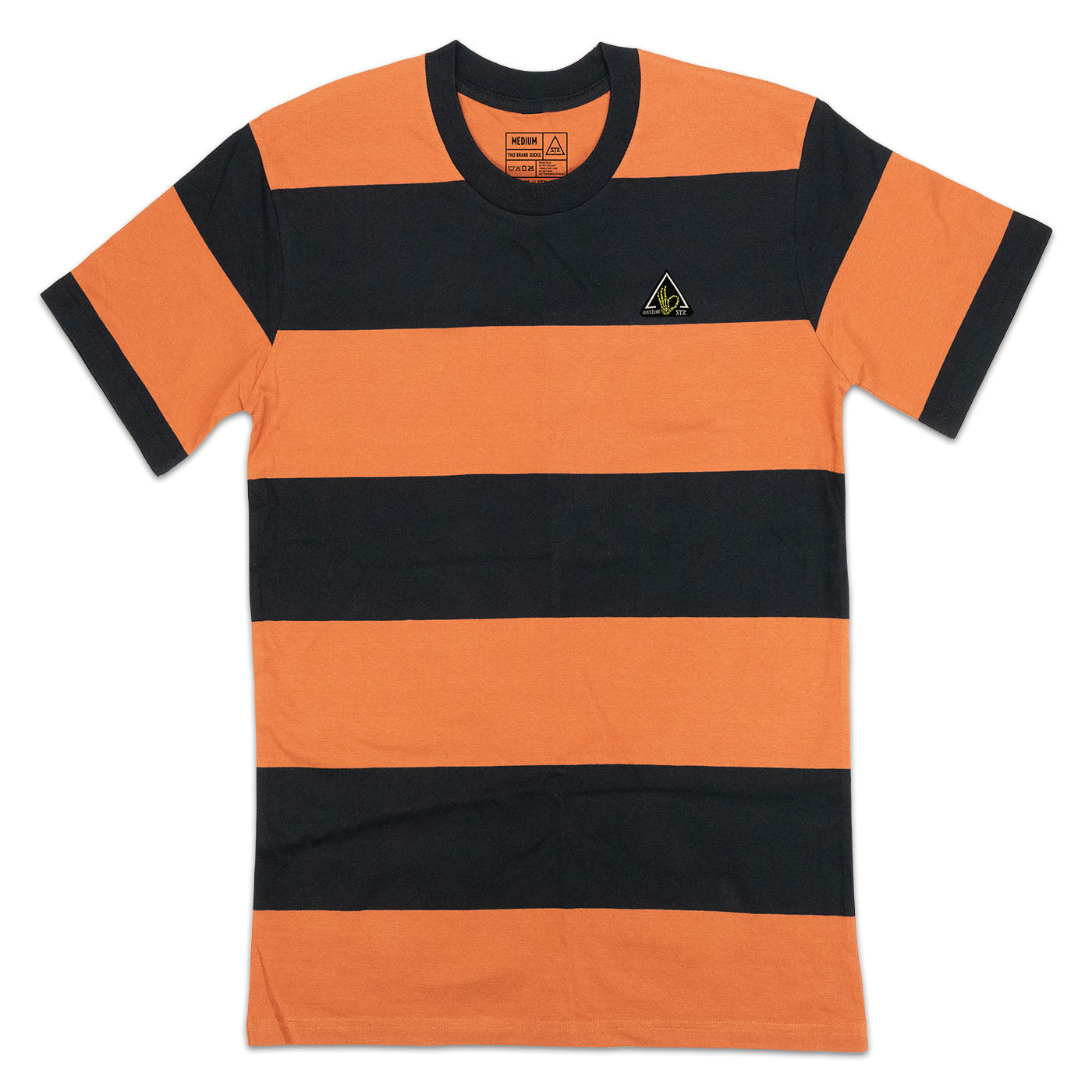 THICC STRIPE | ORANGE + BLACK