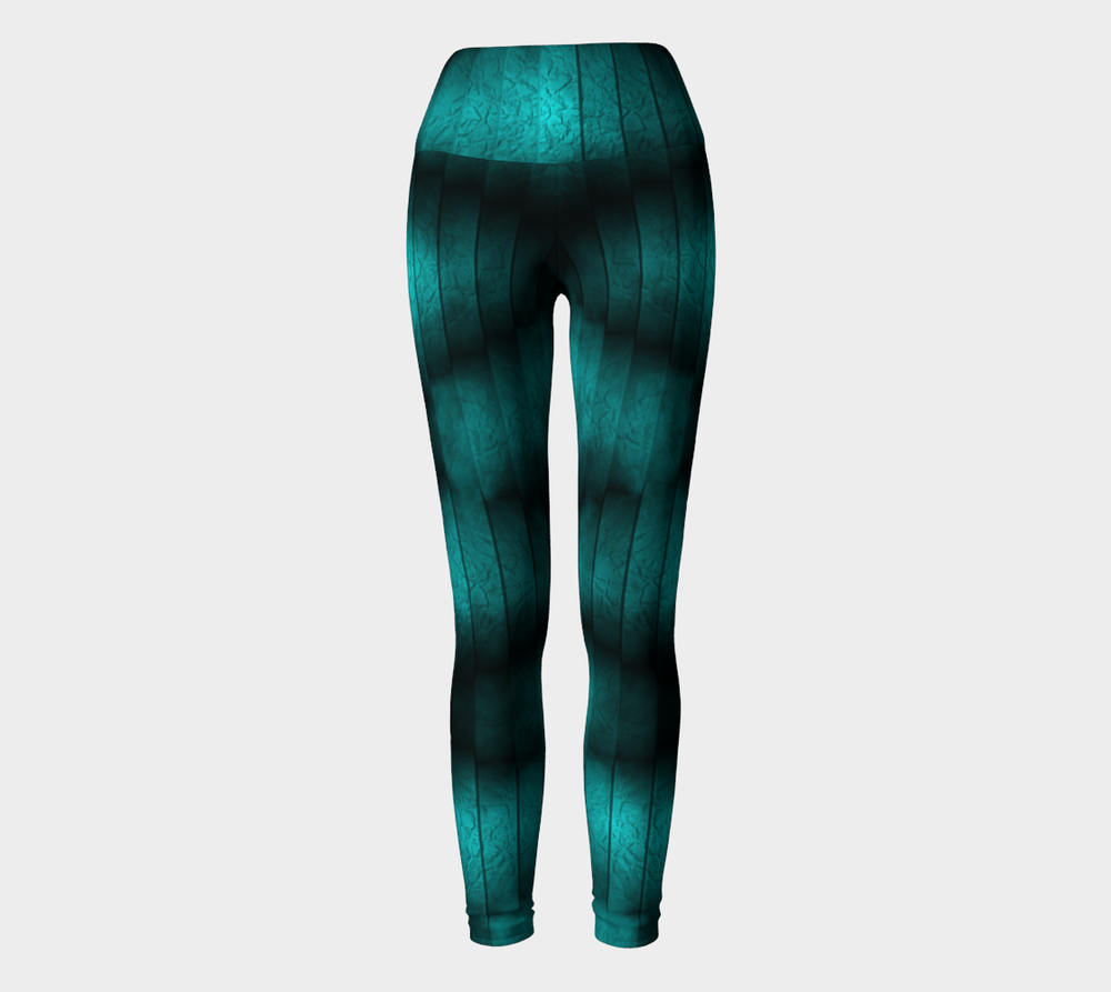 Hatha Zone Shadow Morph High-Waist Yoga Legging Pant-Yoga Leggings-Hatha Zone