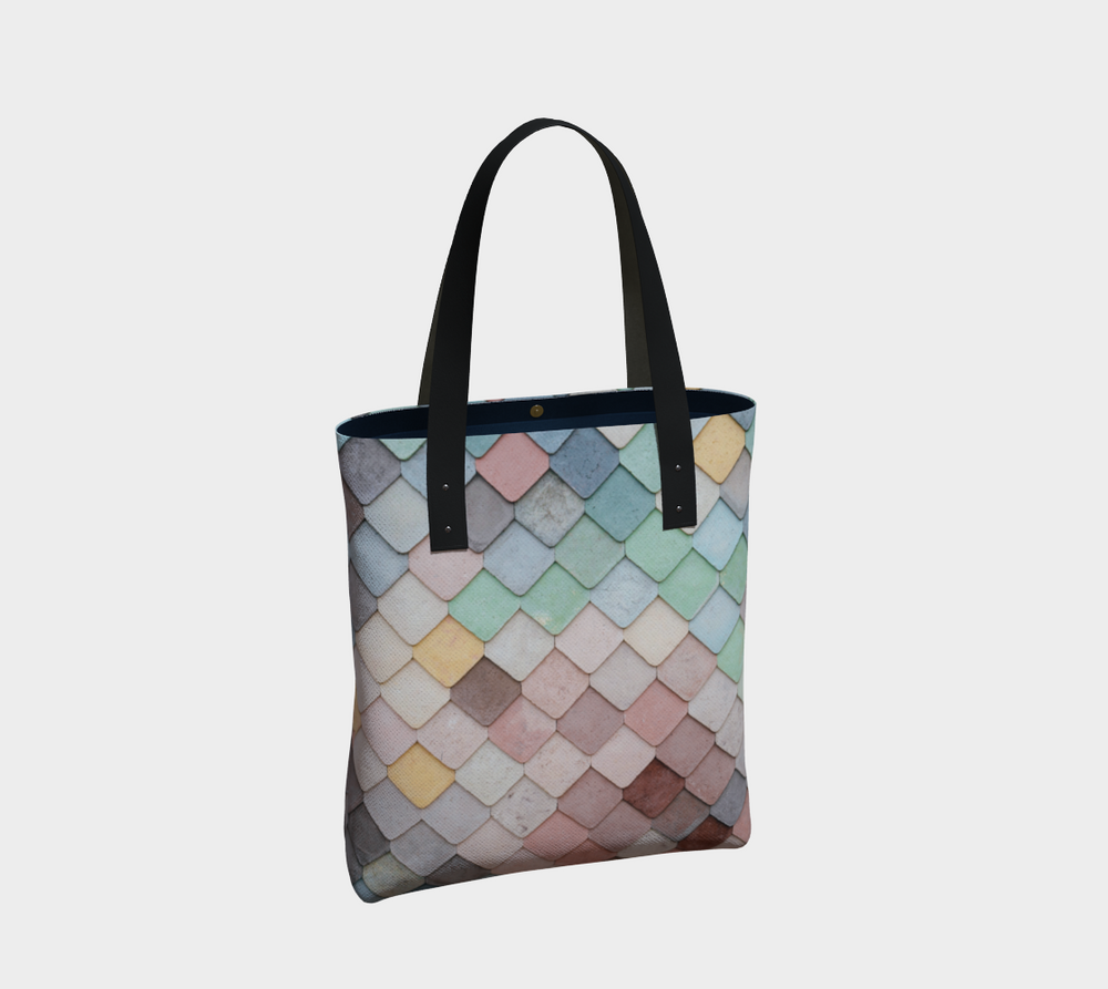 Hatha Zone Scales Tote Bag-Tote Bag-Hatha Zone
