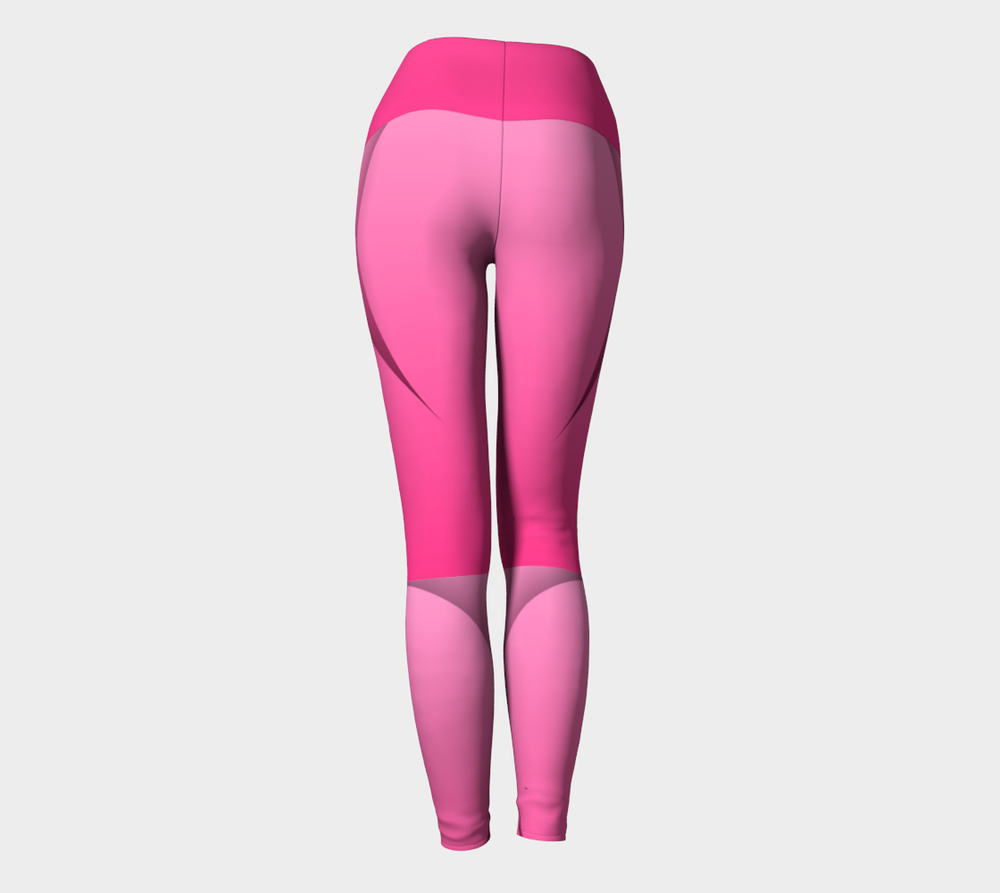 Hatha Zone Fangs High-Waist Yoga Legging Pant-Yoga Leggings-Hatha Zone