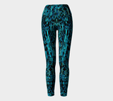 Hatha Zone Neptune Waterfall High-Waist Yoga Legging Pant-Yoga Leggings-Hatha Zone