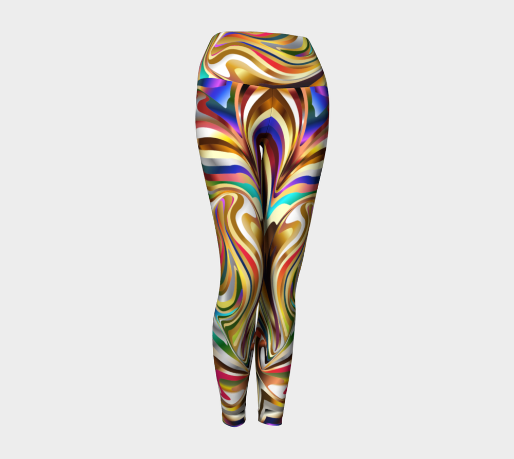 Hatha Zone Saturn High-Waist Yoga Legging Pant-Yoga Leggings-Hatha Zone