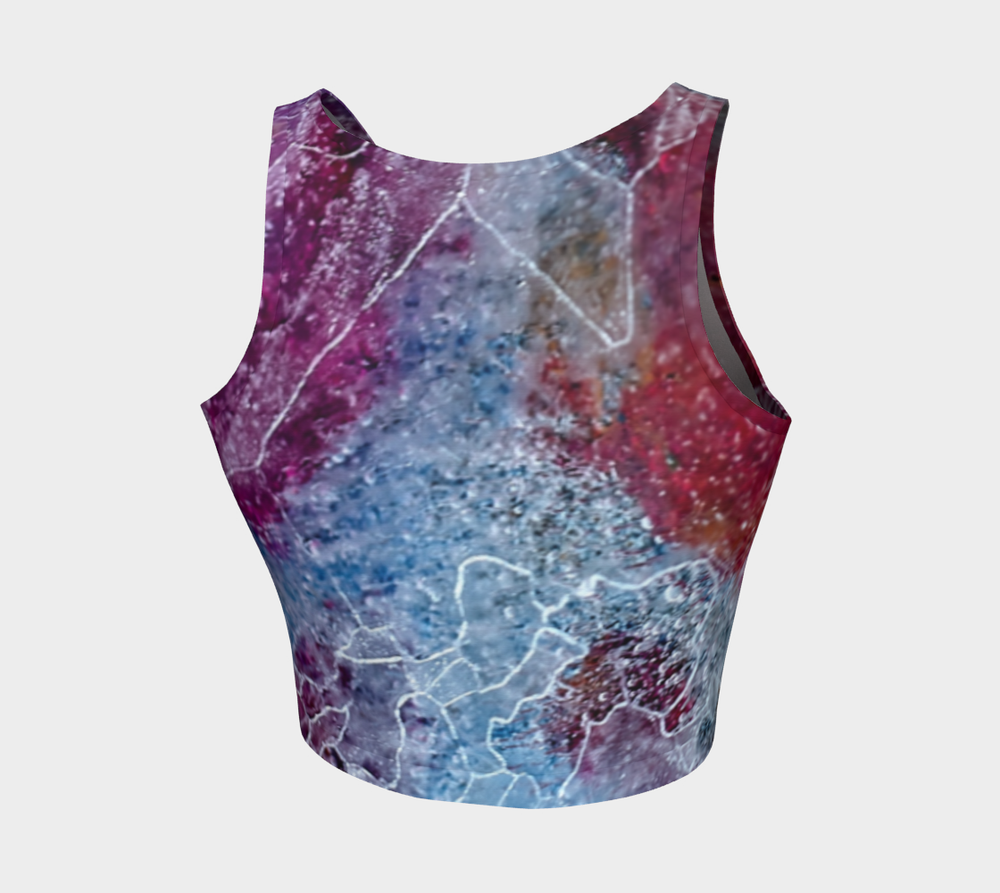 Hatha Zone Cyclone Crop Top-Athletic Crop Top-Hatha Zone