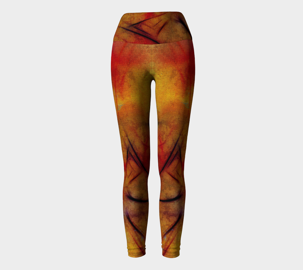 Hatha Zone Mellow High-Waist Yoga Legging Pant-Yoga Leggings-Hatha Zone