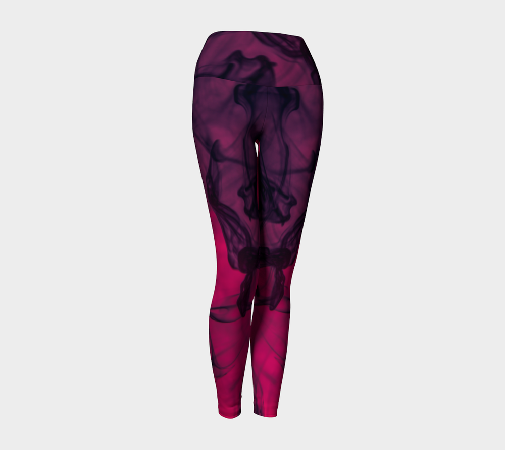 Hatha Zone Essence High-Waist Yoga Legging Pant-Yoga Leggings-Hatha Zone