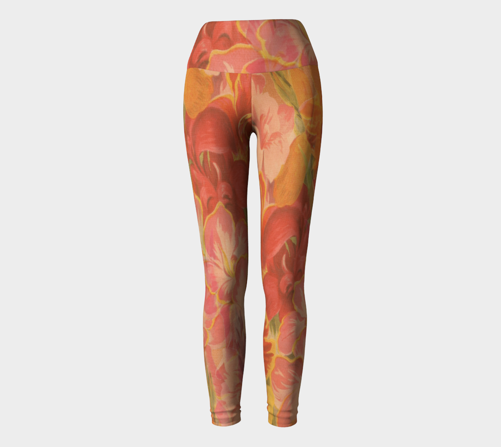 Hatha Zone Passion High-Waist Yoga Legging Pant-Yoga Leggings-Hatha Zone