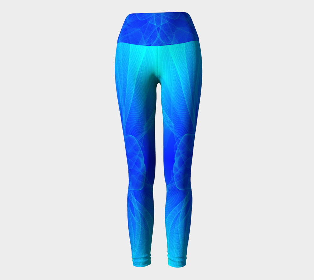 Hatha Zone Sea of Dreams High-Waist Yoga Legging Pant-Yoga Leggings-Hatha Zone