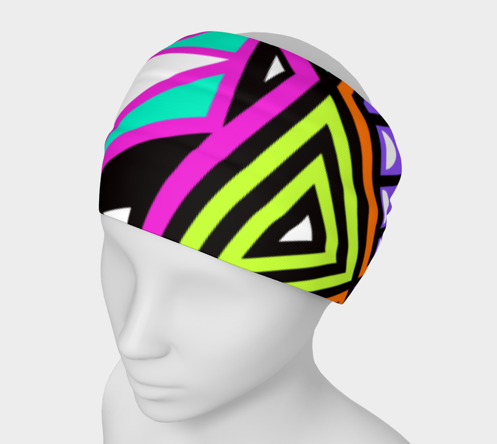 Hatha Zone Living Color Headband-Headband-Hatha Zone