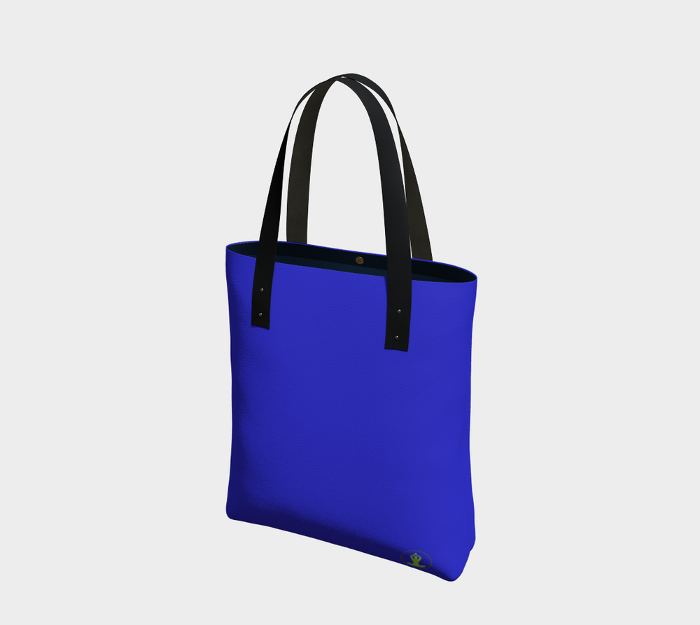 Hatha Zone Blue Tote Bag-Tote Bag-Hatha Zone