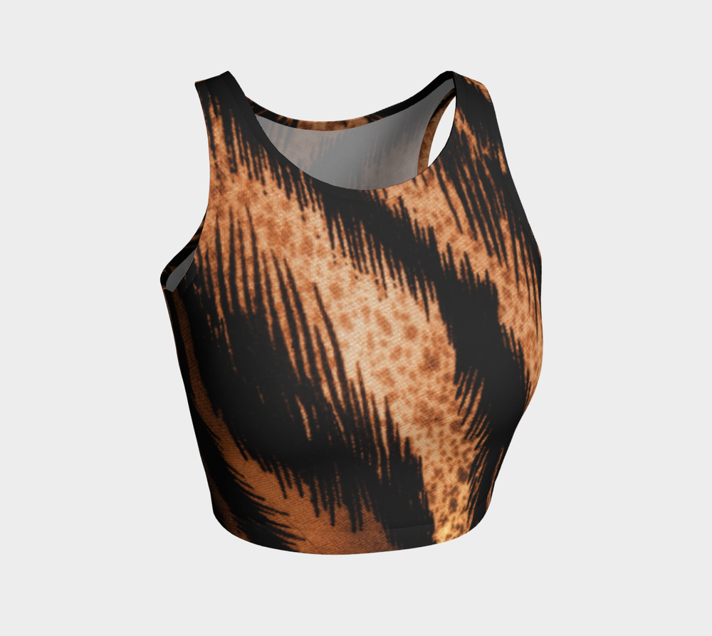 Hatha Zone Predator Crop Top-Athletic Crop Top-Hatha Zone