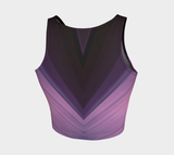 Hatha Zone Amethyst Crop Top-Athletic Crop Top-Hatha Zone
