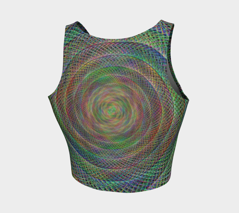 Hatha Zone Spyro Crop Top-Athletic Crop Top-Hatha Zone