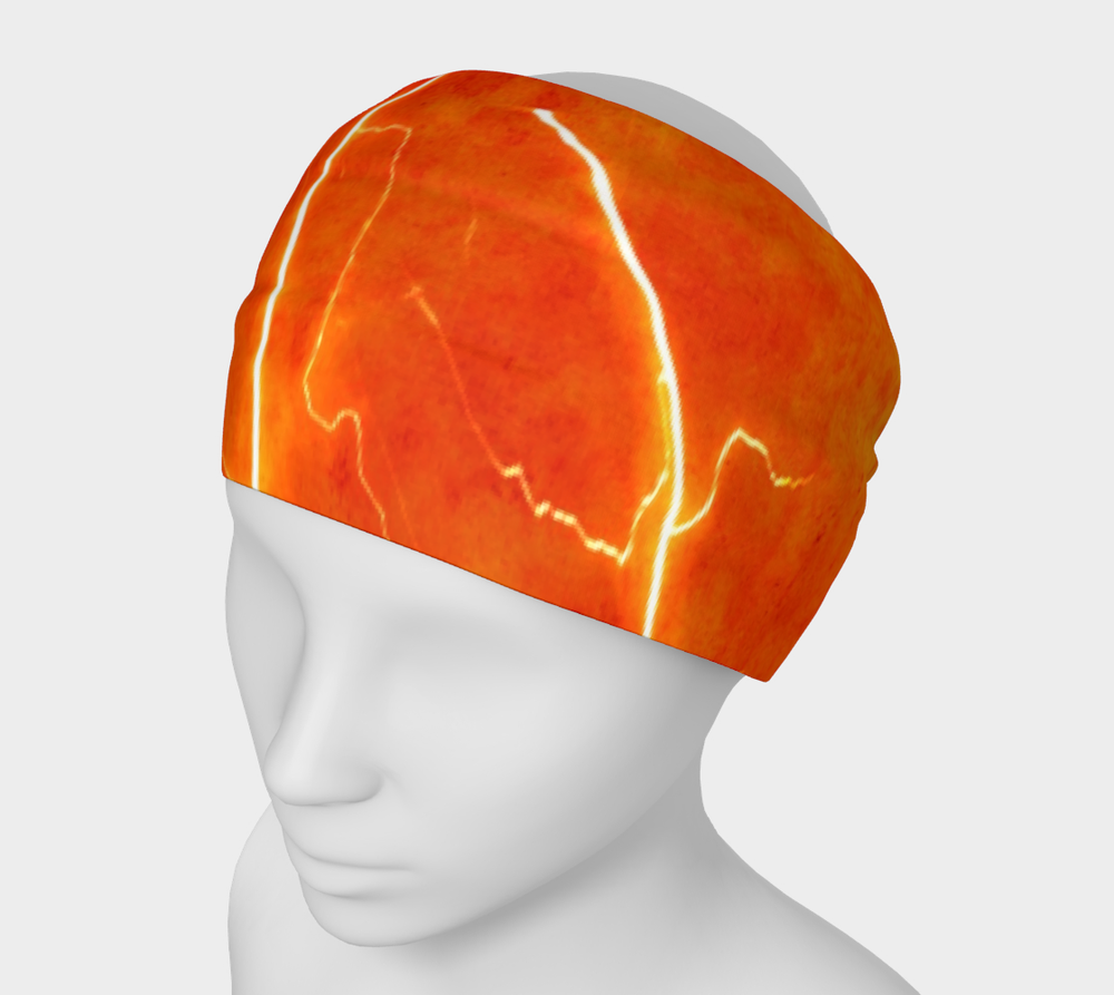 Hatha Zone Lightning Strike Headband-Headband-Hatha Zone