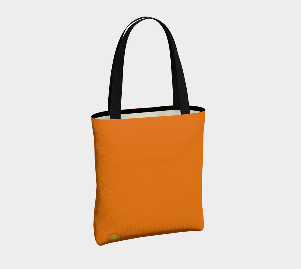 Hatha Zone Orange Tote Bag-Tote Bag-Hatha Zone