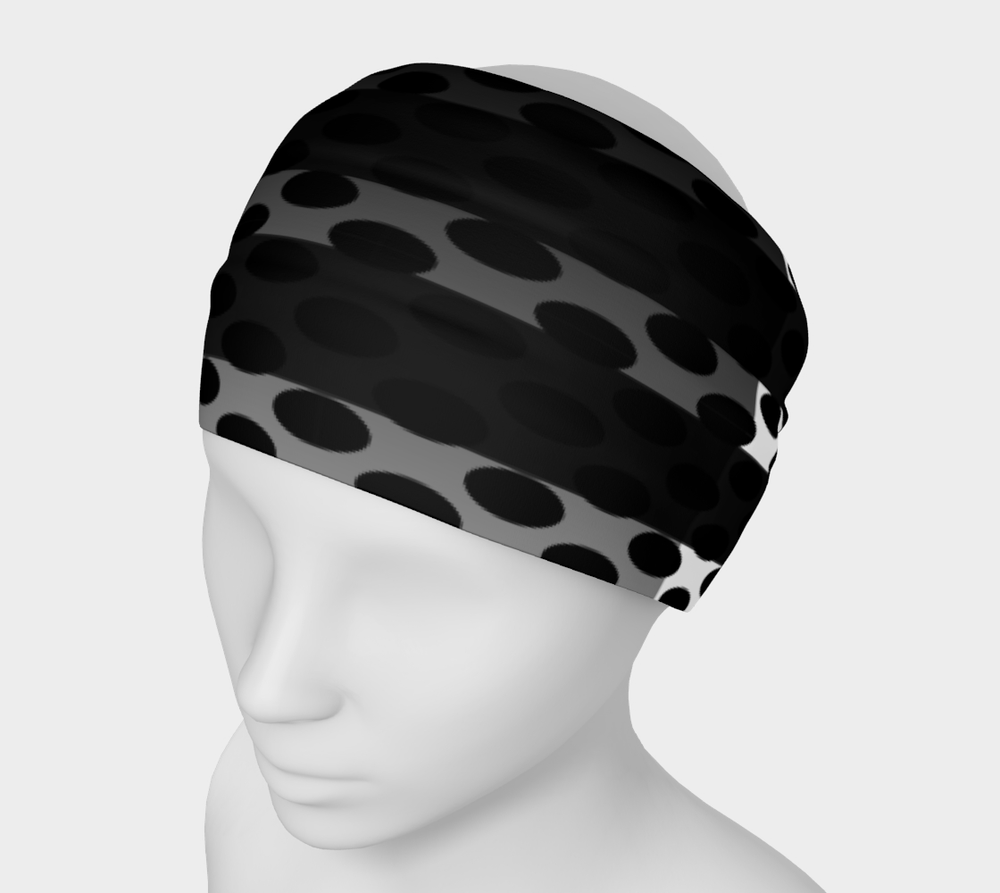 Hatha Zone Dot Band Headband-Headband-Hatha Zone