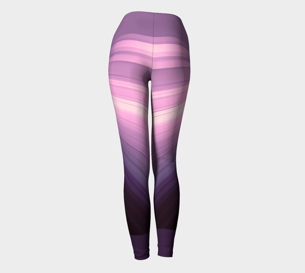 Hatha Zone Amethyst High-Waist Yoga Legging Pant-Yoga Leggings-Hatha Zone