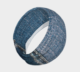 Hatha Zone Denim Headband-Headband-Hatha Zone