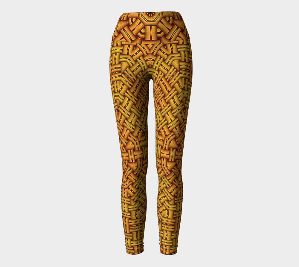 Hatha Zone Aztec High-Waist Yoga Legging Pant-Yoga Leggings-Hatha Zone