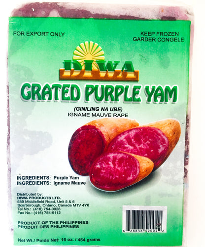 Grated Purple Yam (Ube)