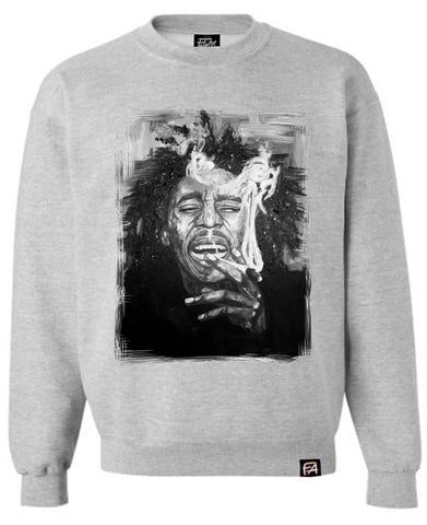 Bob Marley Smoking Sweatshirt