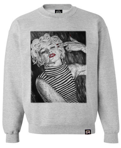 Marilyn Monroe- Kill Them Bad Thoughts Sweatshirt
