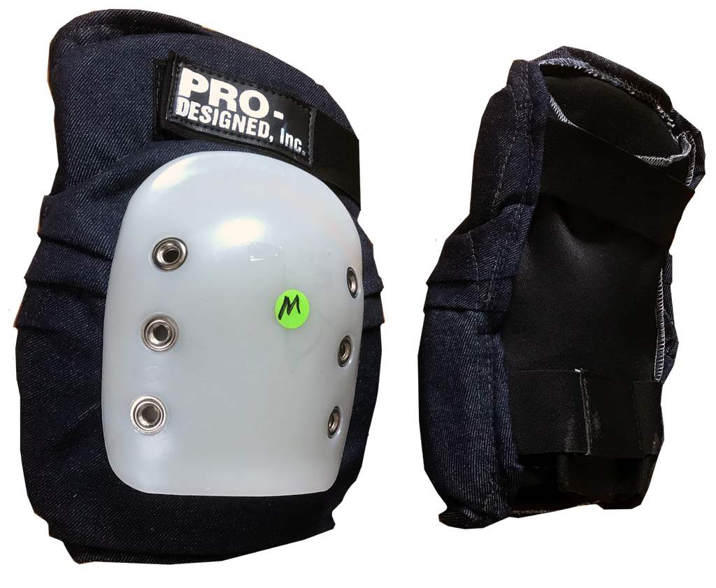 Pro Designed Super Single knee pads INDIGO