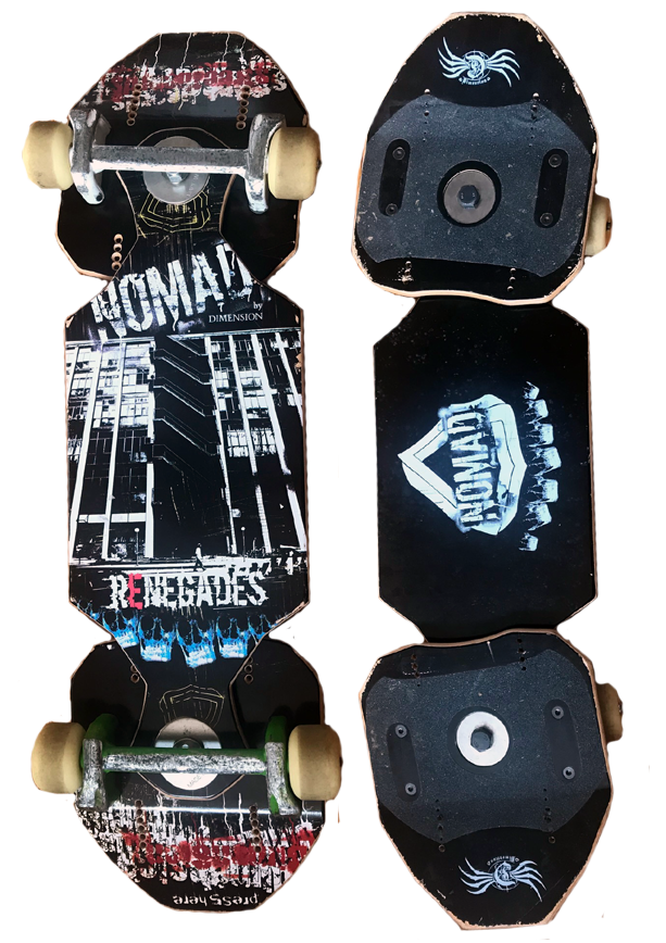 Nomad Renegade Demon Trucks 2nd Hand