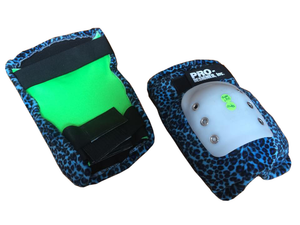 Pro Designed Super Single knee pads blue leo