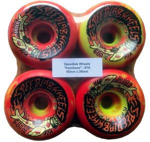 Speedlab Wheels Kamikaze 65mm 97A