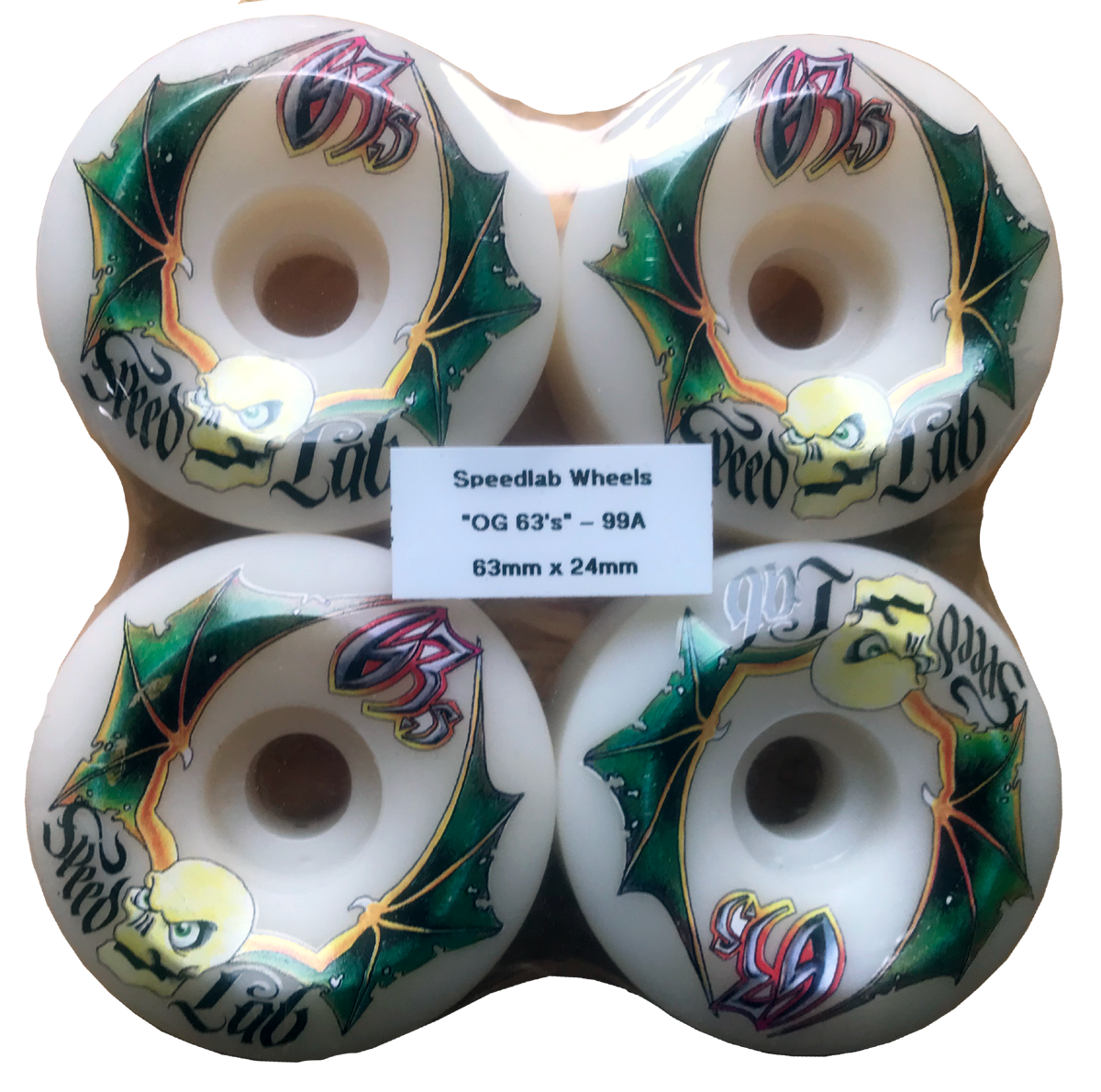 Speedlab Wheels OG 63's 63mm 99A
