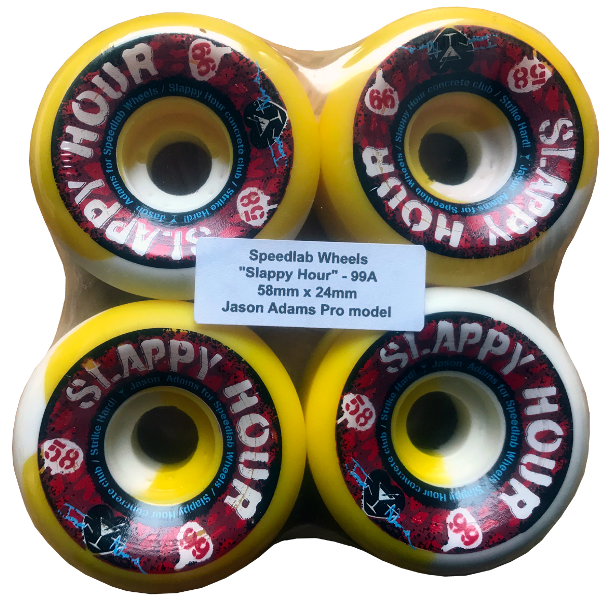 Speedlab Wheels Slappy Hour 58mm 99A