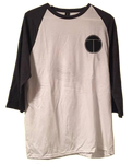 Turunflun 3/4 sleeve Shirt white/grey