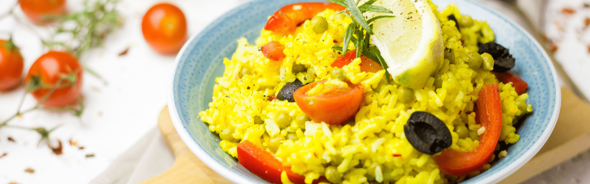 Yellow rice from Meghalaya
