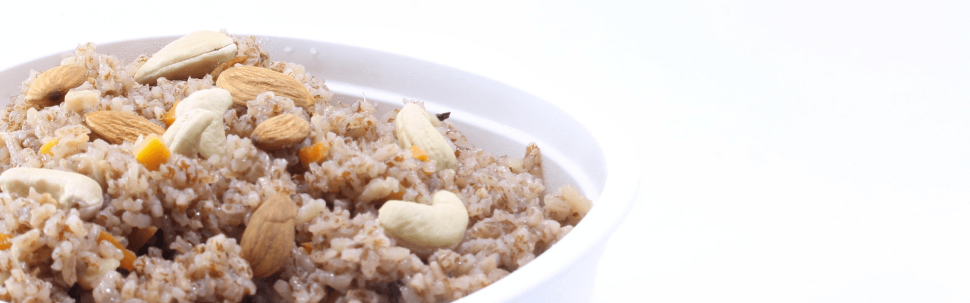 Pulao using khasi red rice
