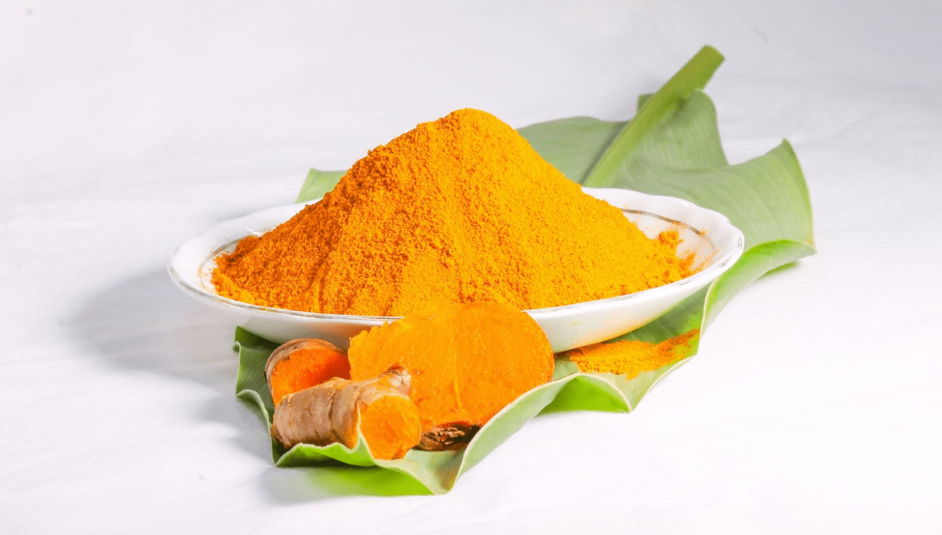 Lakadong turmeric powder from Meghalaya