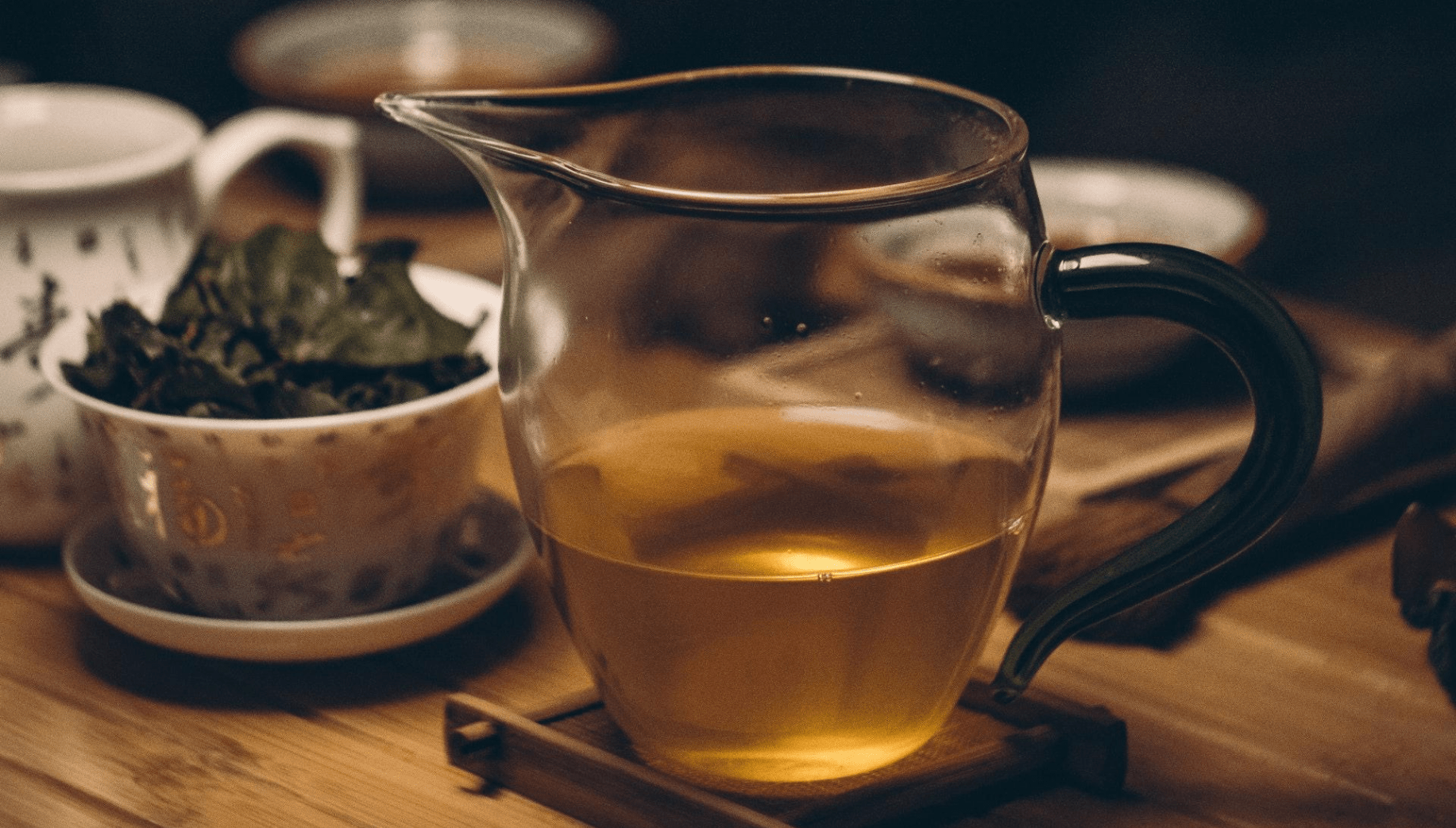 Green tea is a common drink in Meghalaya