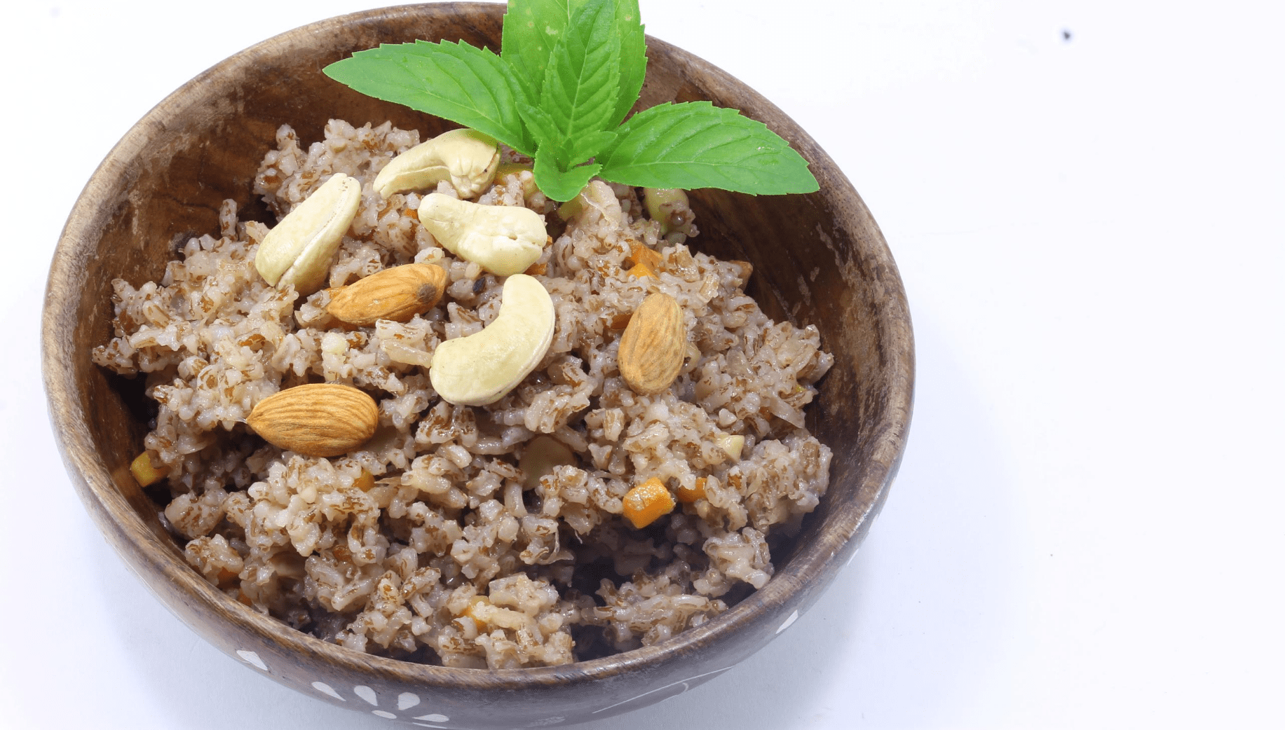 Pulao made using Khasi red rice