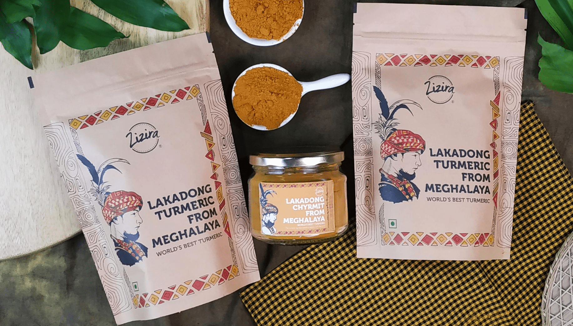 Lakadong turmeric from Meghalaya has been used to aid medical treatment