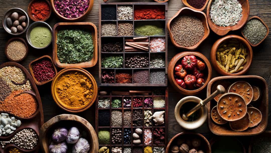 authentic and pure herbs and spices