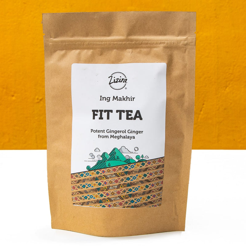 Fit tea potent ginger from Meghalaya
