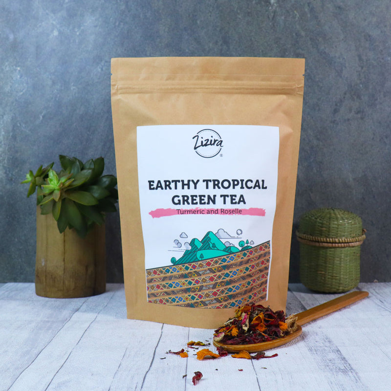Earthy Tropical Green Tea | 100g