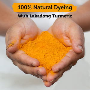 100% Natural Dye Lakadong Turmeric Powder - 700g