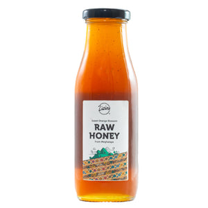 Sweet Orange Blossom Honey (Raw Honey) from Mawsynram 450g