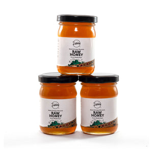 Pure Orange Blossom Honey from Meghalaya- bundles of 3