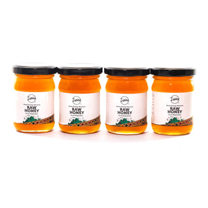 Zizira pure Orange Blossom Honey - bundles of 4