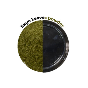 Naturally Grown Dried Sage Leaves Powder from Meghalaya 30g