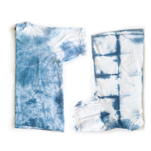 Zizira Unisex 100% Cotton Tie-dye Eco-friendly T-shirts