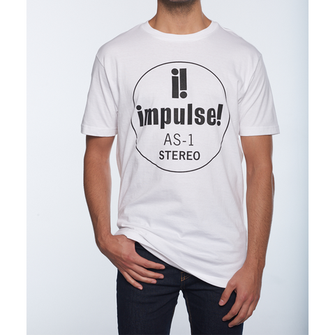 Impulse Front Logo T-Shirt - White