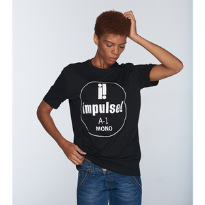 Impulse Front Logo T-Shirt - Black